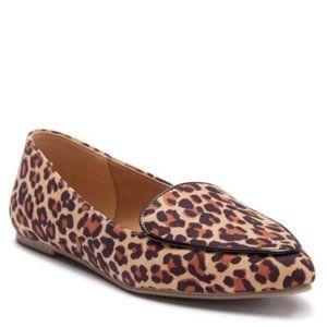 MIA Niles Leopard Print Pointed Toe Flat 6